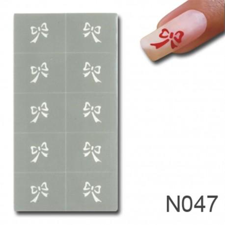 Smart Nails Nagellack Schablone 47