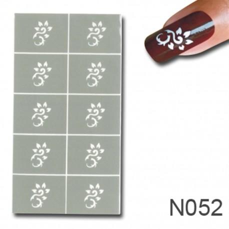Smart Nails Nagellack Schablone 52