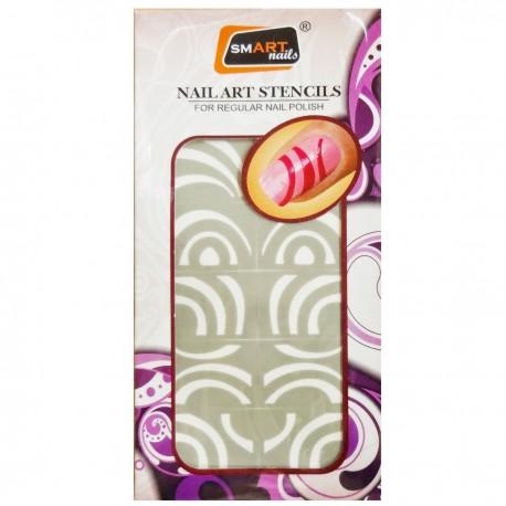 Smart Nails Nagellack Schablone 53