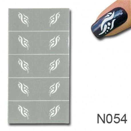 Smart Nails Nagellack Schablone 54