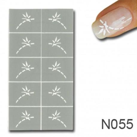 Smart Nails Nagellack Schablone 55