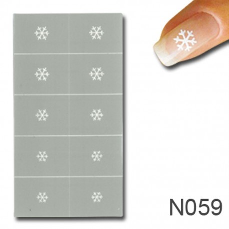 Smart Nails Nagellack Schablone 59