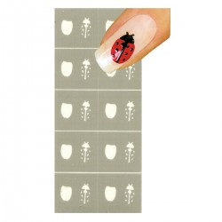 Smart Nails Nagellack Schablone NDS0001