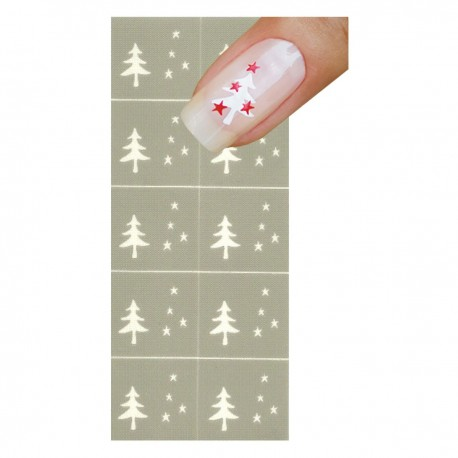 Smart Nails Nagellack Schablone NDS0004