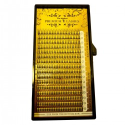 Magic Nails Premium Wimpern Silk Lashes Y-B-Curl  0.10