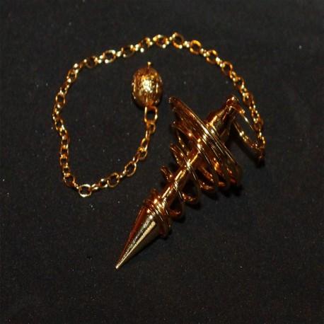 Magic Items spiral Pendel messing