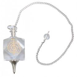 Pendel Edelstein-Kugel bergkristall spirale