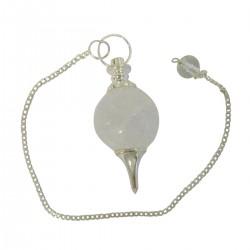 Magic Nails Pendel Edelstein-Kugel bergkristall