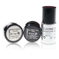 STUDIOMAX Chrome Nailart Box